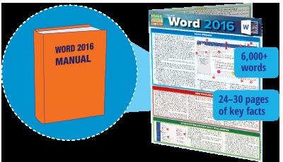 word 2016 manual