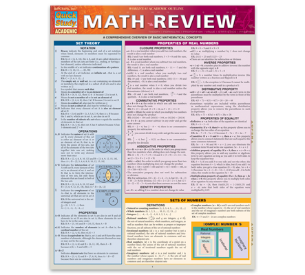 take the mystery out of basic math with the latest edition of our best selling math review guide includes hard to remember formulas and properties