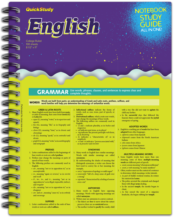 English Notebook